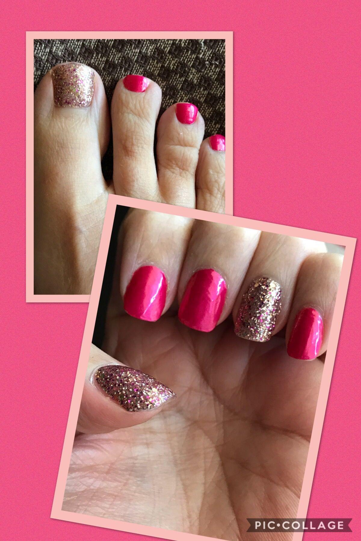 Color Street Shes Lit Christmas 2020 Nail Strips Miami Beach and Tokyo Lights | Color street nails, Nail polish