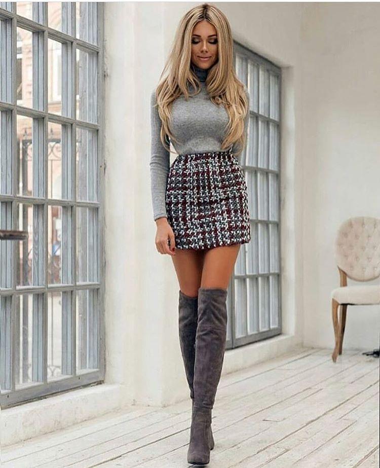 Больше не скучно! 12 интересных способов носить водолазку с юбкой | Новости  моды | Beautiful outfits, Summer fashion outfits, Mini skirts