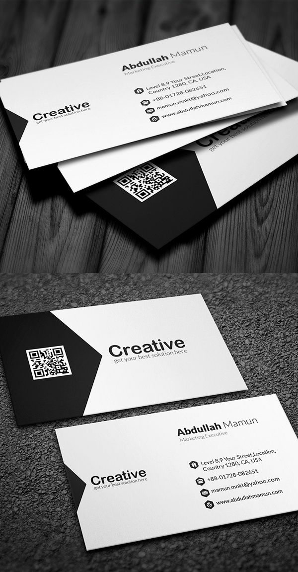Professional Business Card Businesscards Branding Psdtemplates