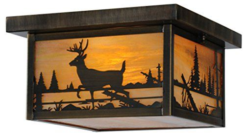 Meyda Tiffany 142324 Hyde Park Deer Creek Flush Mount, 12... https://www.amazon.com/dp/B01C88OY44/ref=cm_sw_r_pi_dp_x_CGX8ybCTDX0BN