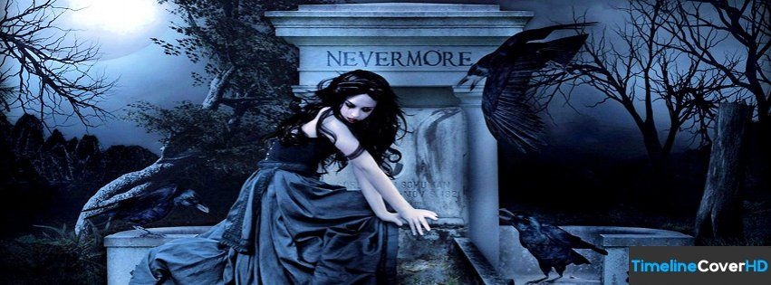 Dark Fantasy Facebook Covers: Goth Girl 1 Facebook Timeline Cover Hd Facebook Covers
