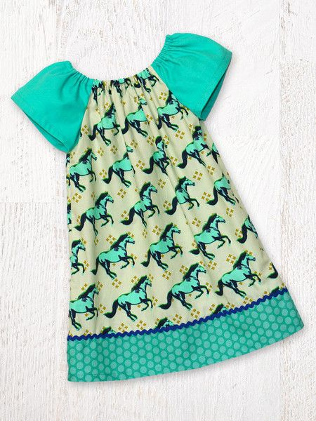 Anna Peasant Dress Sewing Pattern – My Childhood Treasures