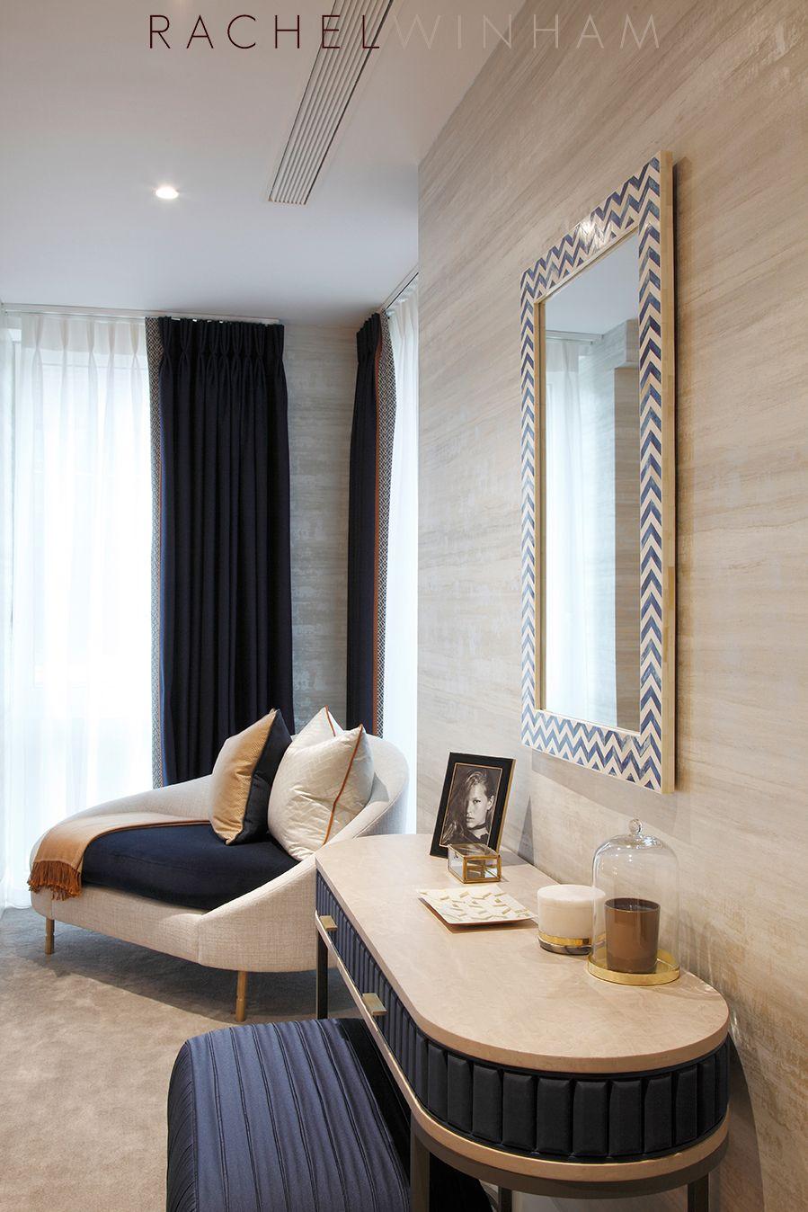Master Bedroom  Rachel Winham Interior Design  Luxury furniture