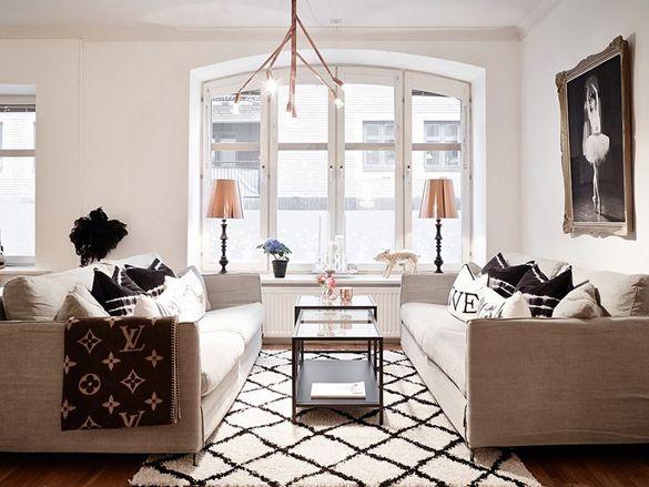 Retro and chic apartment