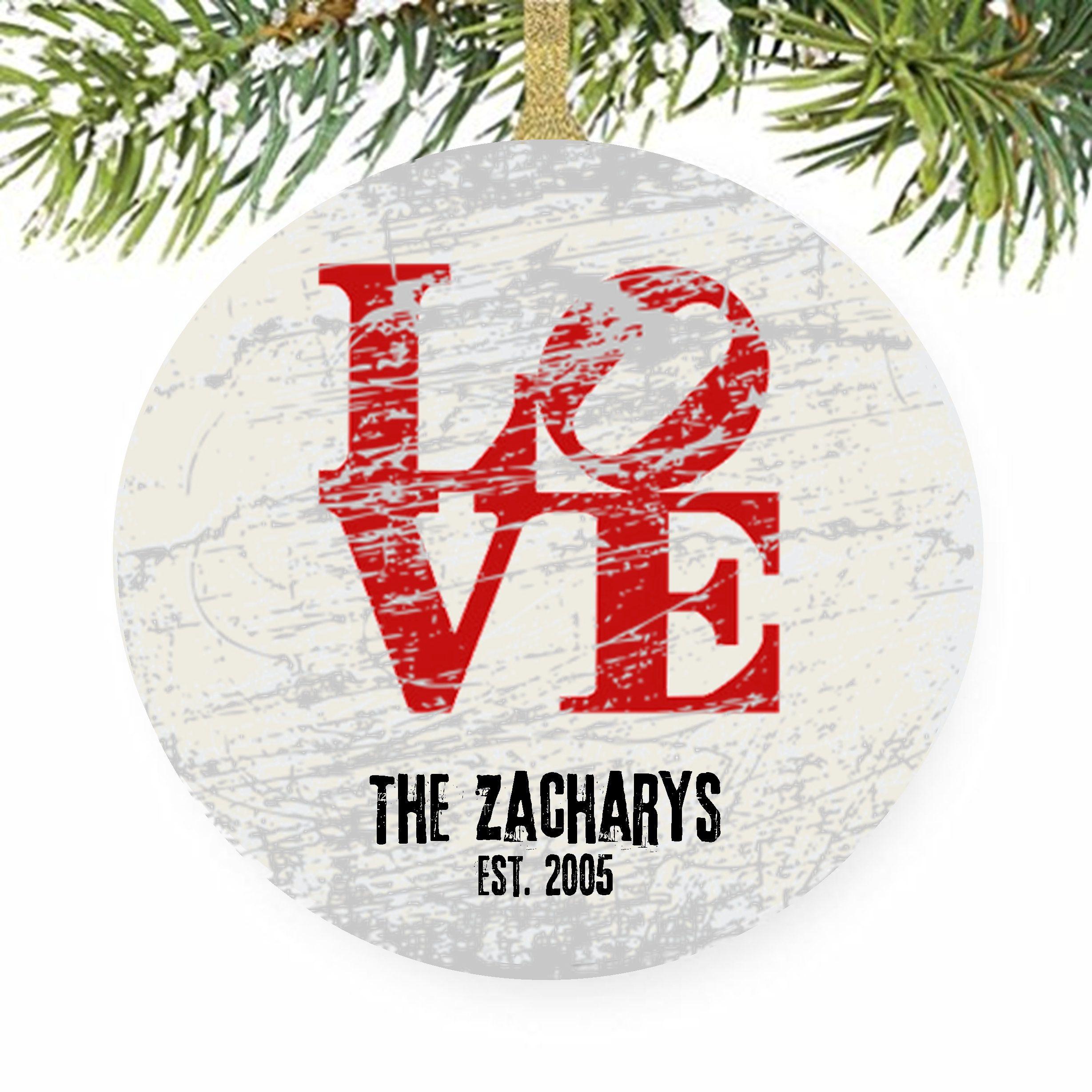 Philadelphia Love Ornament, Philly Love, Tree Ornaments, Robert ...