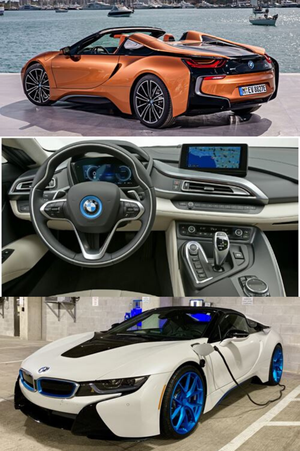 Bmw I8 Hybrid Sports Car Plug In Hybrid In 2020 Hybrid Sports Car Bmw I8 Personalized Car Accessories