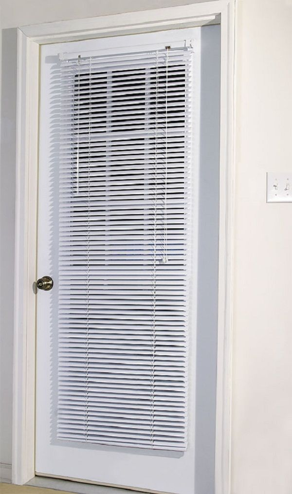 Office Door Mini Blinds Designs