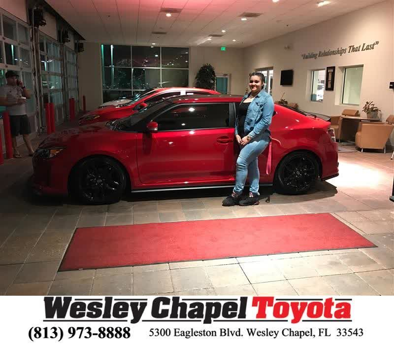 Hybirthday To Tonia From Luis Veas At Wesley Chapel Toyota Https