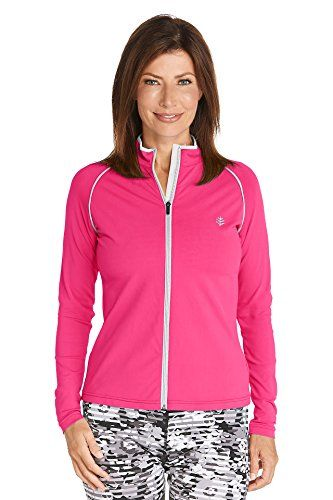 53f0a04c77 Coolibar UPF 50 Womens Water Jacket Sun Protective XXLarge Thai Pink -- Be  sure to check out this awesome product.