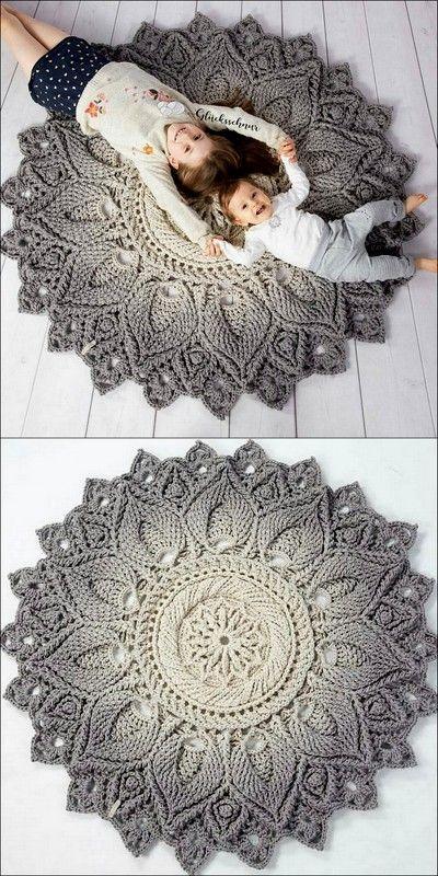 Cute Rug Free Crochet Patterns