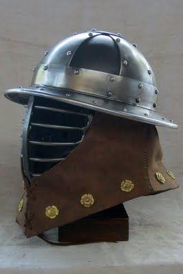 Knight Helmet Stainless Steel Collar Stays