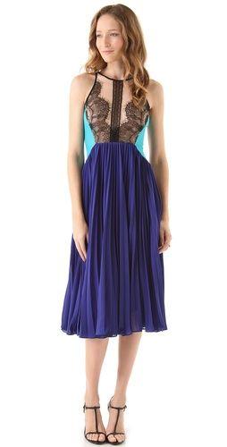 This @Shopbop Three Floor Hidden Gem Midi Dress is so our style.