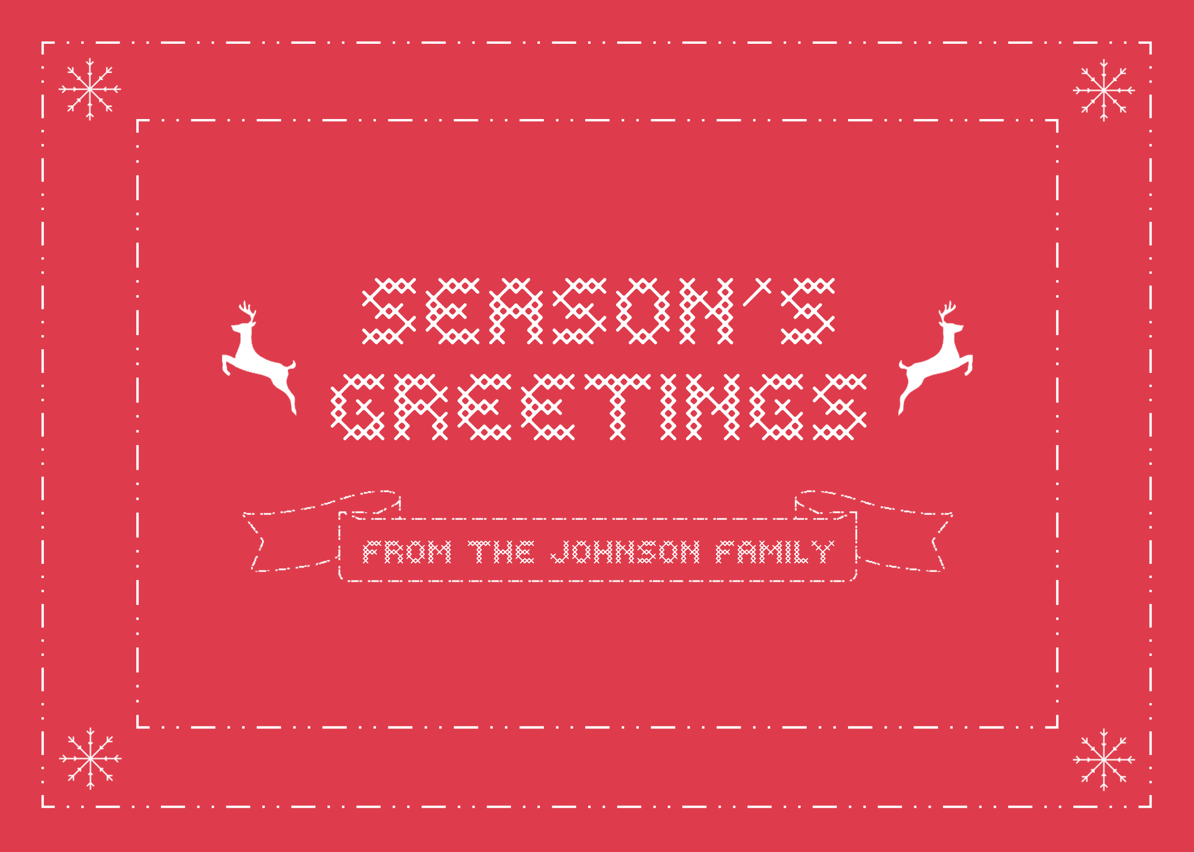Season S Greetings Postcard Template Customize This Postcard Template Online With Only A Few Seasons Greetings Card Greeting Card Template Seasons Greetings