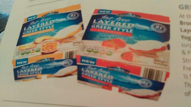 Aldi Greek Layer Yogurt 1 2 Syn Each Slimming World Pinterest