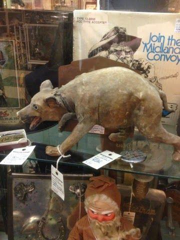 Great Old Antique Mechanical Bear | Bear Flag Museum