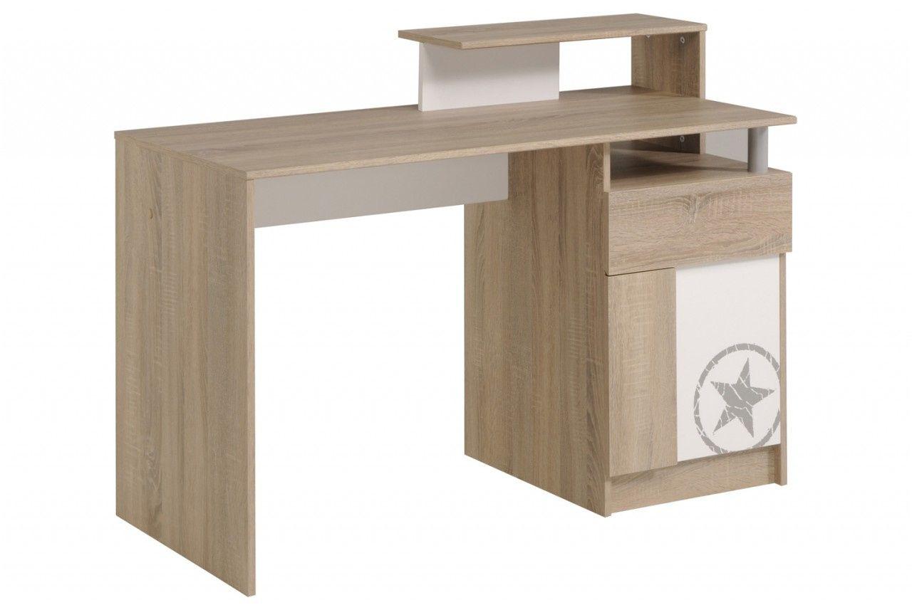 Pièce préférée bureau bois blanc meuble di