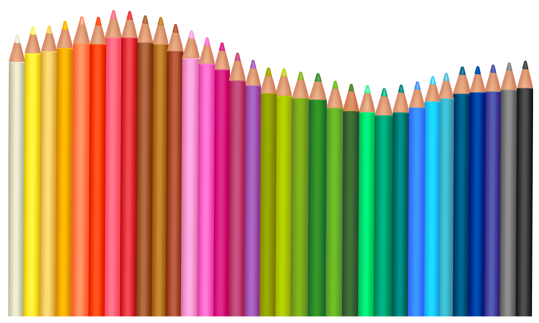 Transparent Pencils Png Vector Clipart High Quality Image And Transparent Png Free Clipart Gallery Yopriceville Clip Art Lapis De Cor Maquiagem Png