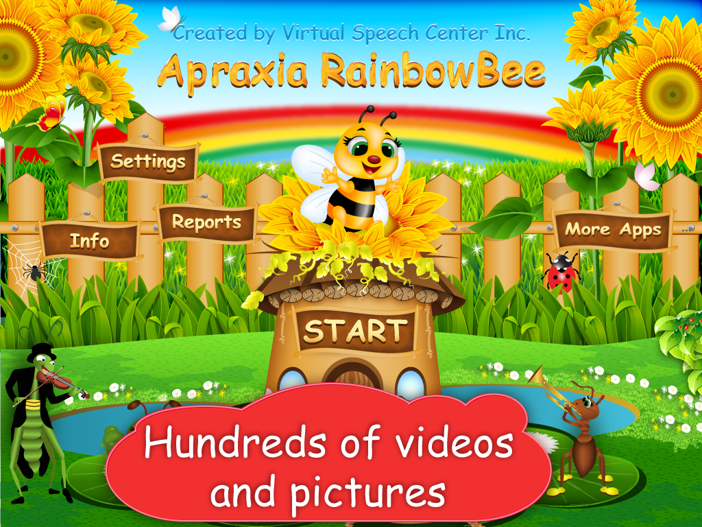 App For Apraxia Of Speech Two Fun Games Included Hundreds Of Pictures And Videos Of Mouth