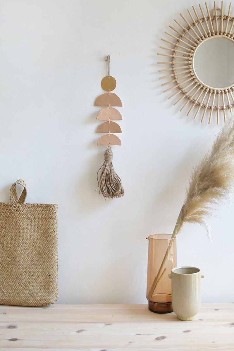 Photo of DIY clay wall hanging