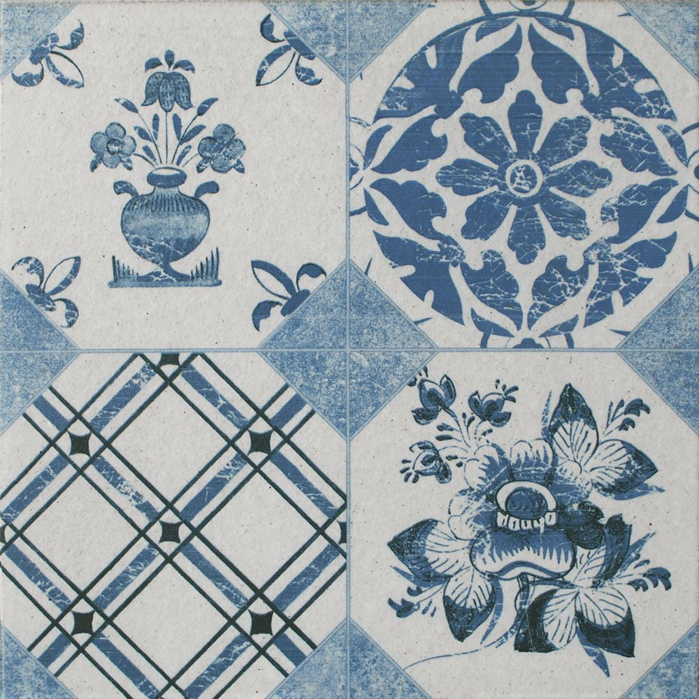Blue decor vintage tiles walls and floors all about tiles blue decor vintage tiles walls and floors dailygadgetfo Images