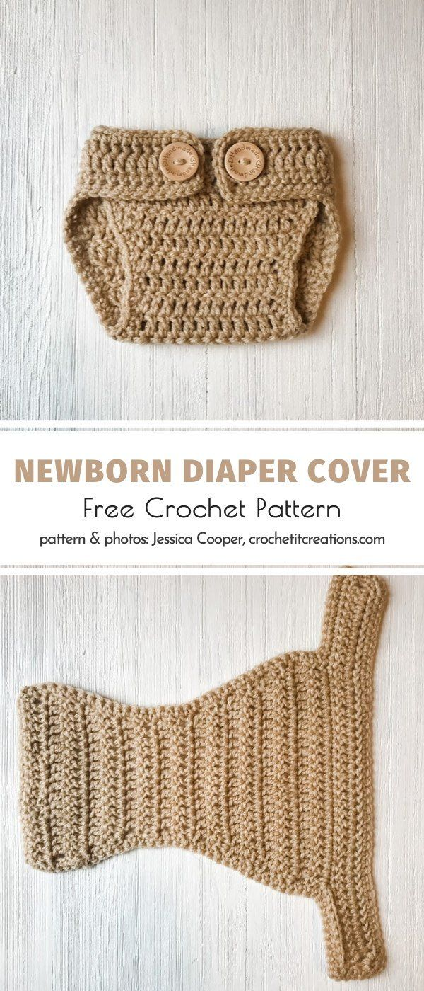 Baby Shower Gift Crochet wizard inspired Pom Pom Hat and Diaper Cover Newborn photo prop