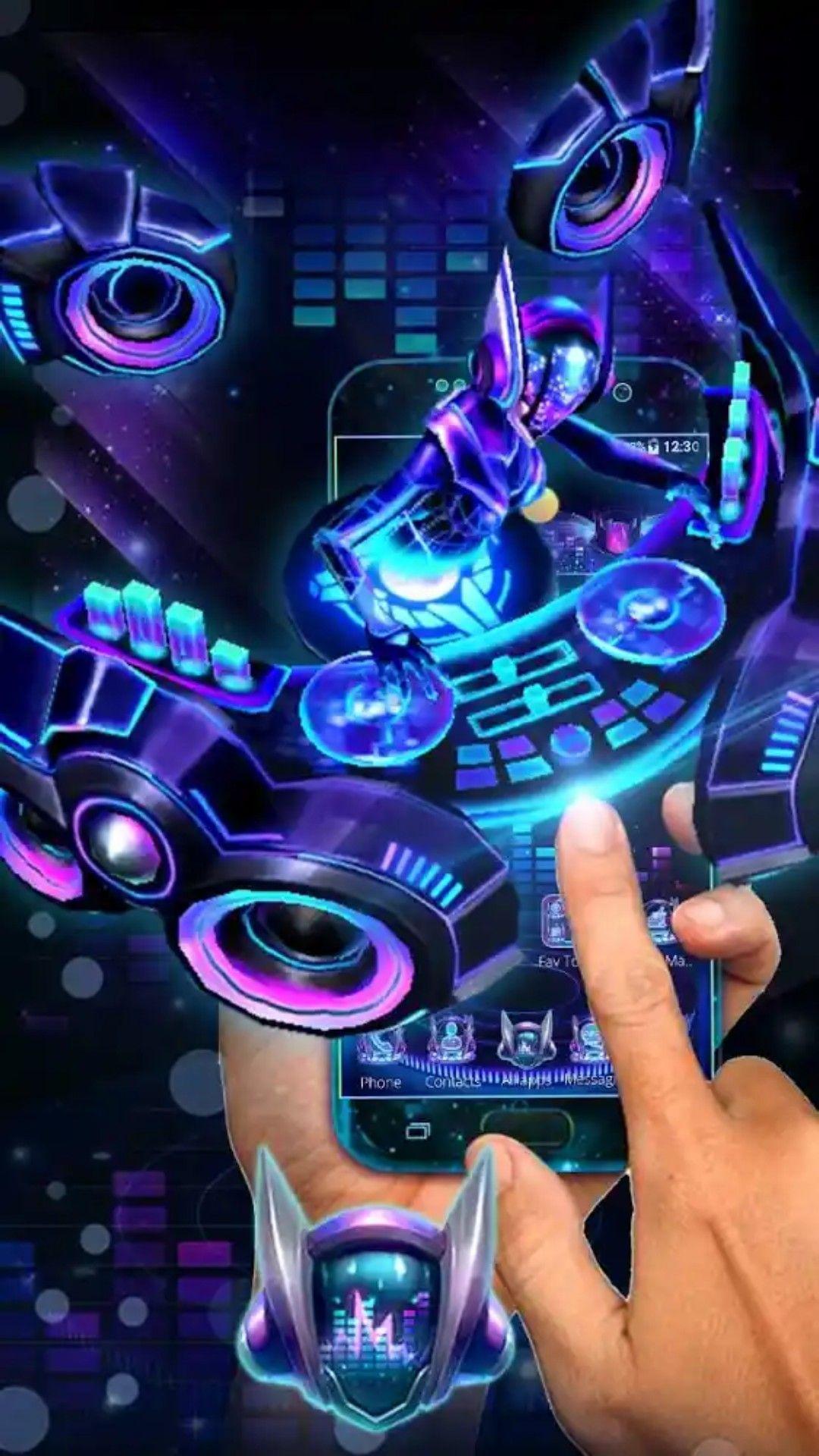 Pin by Android 3D Themes on 3D Themes | Dj music, App store, App