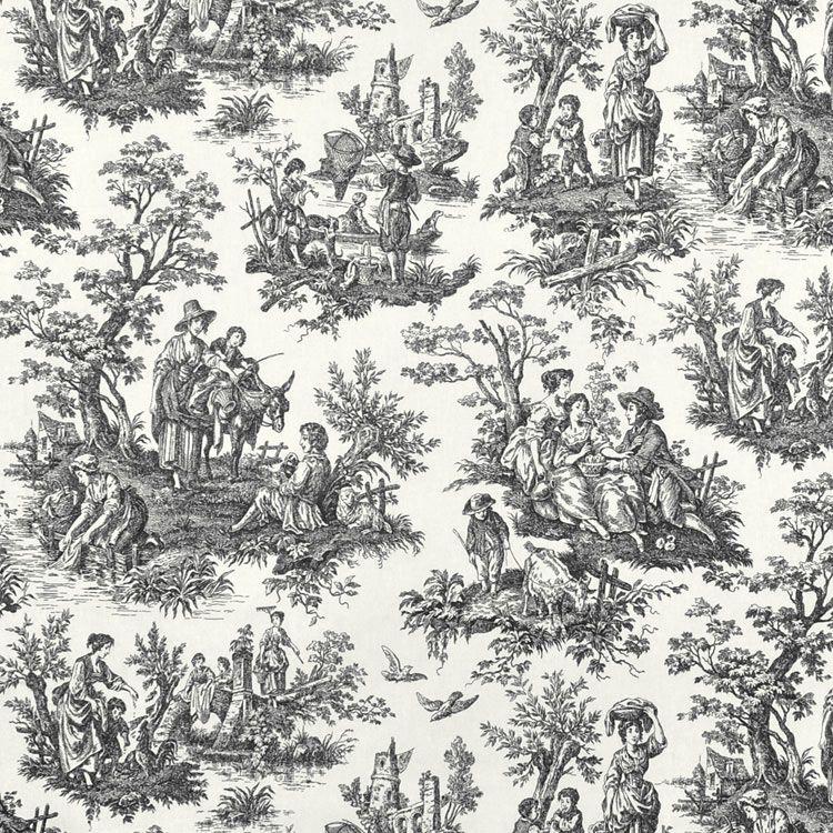 Waverly Country Life Toile Fabric Waverly Fabrics