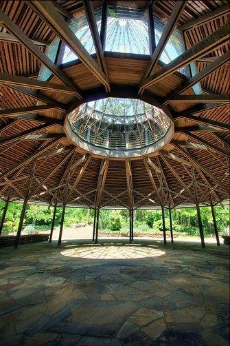 Garvan Pavilion Interior Hot Springs Arkansas Outdoor Wedding Venues Wedding Venues
