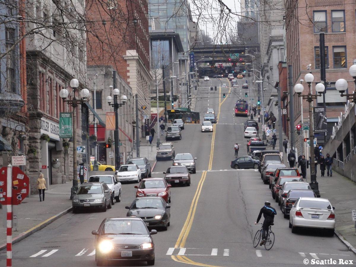 James Street Pioneer Square Seattle   Seattle Rex ...