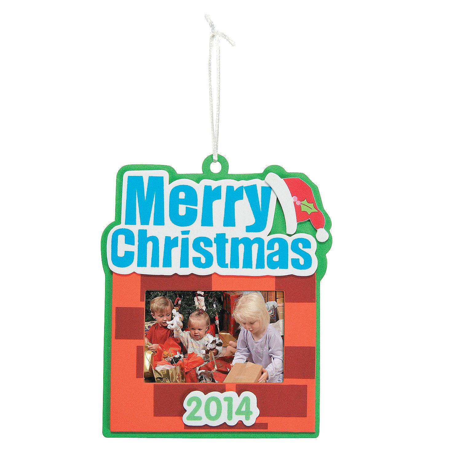 The Merry Christmas Christmas Picture Ornament Craft Kit Can Put