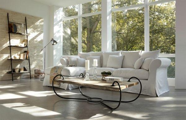 Wohnzimmer Wohnideen Landhausstil Einrichtung Home Mobel