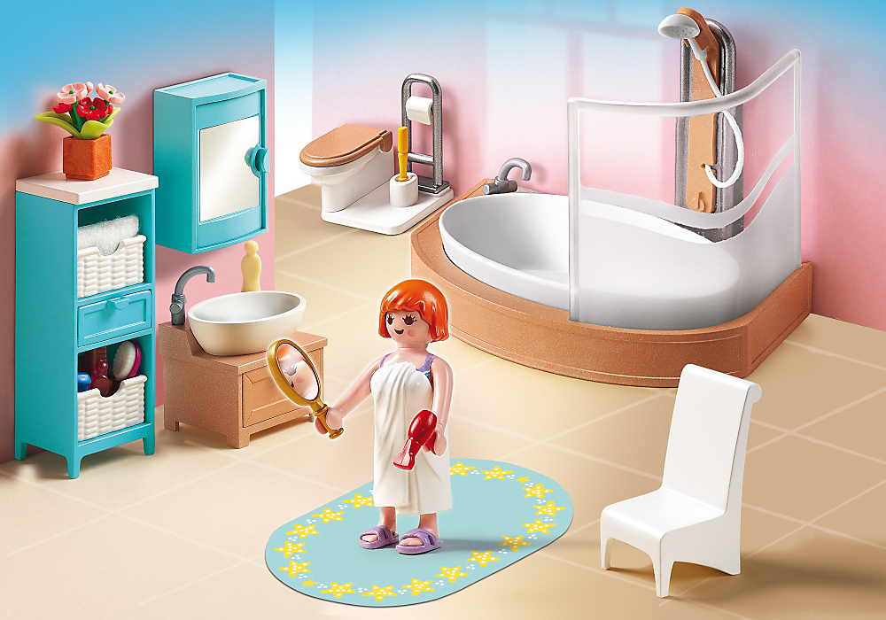 Badezimmer 5330 Playmobil Play Mobile Playmobil Badezimmer