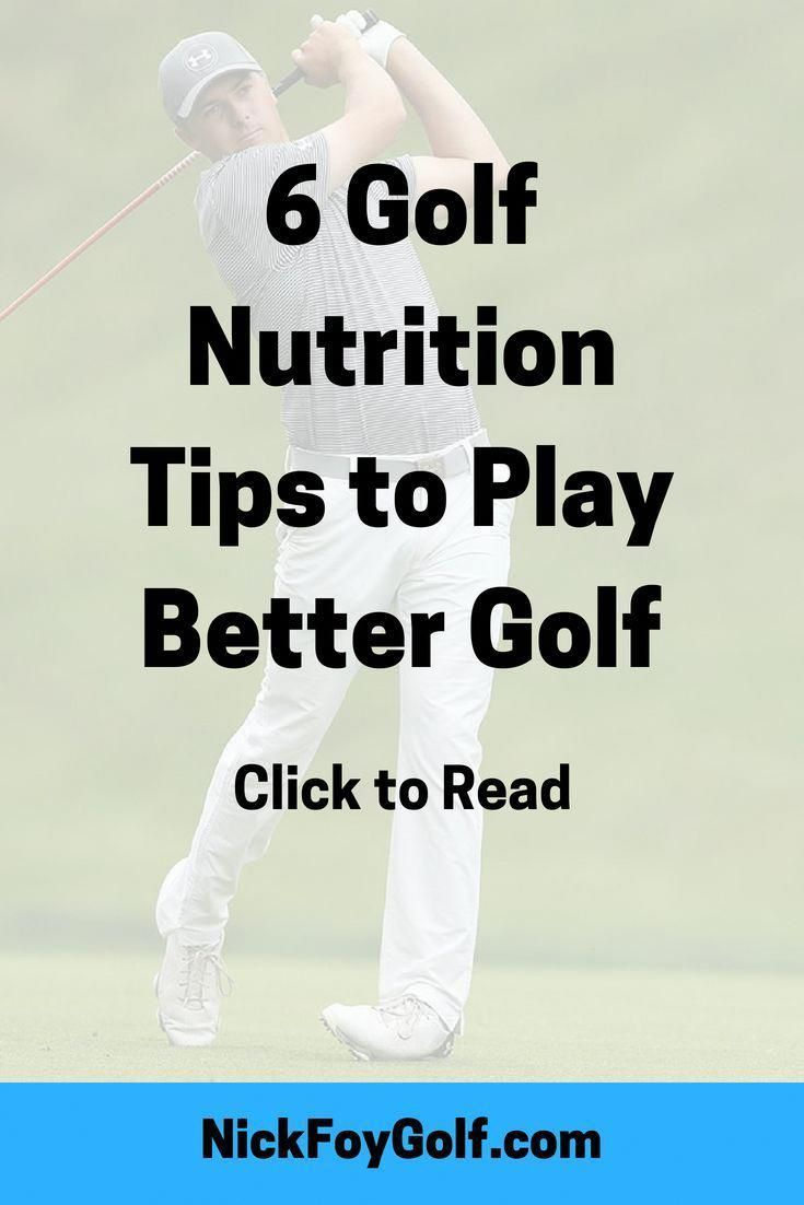 better golf by staying hydrated and eating healthy snacks during the golf round Follow these 6 golf nutrition tipsPlay better golf by staying hydrated and eating healthy...