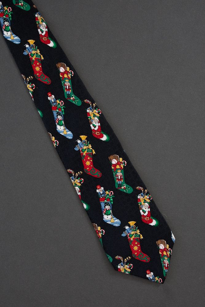 100 silk tie by mmg for hallmark christmas design collection Silk