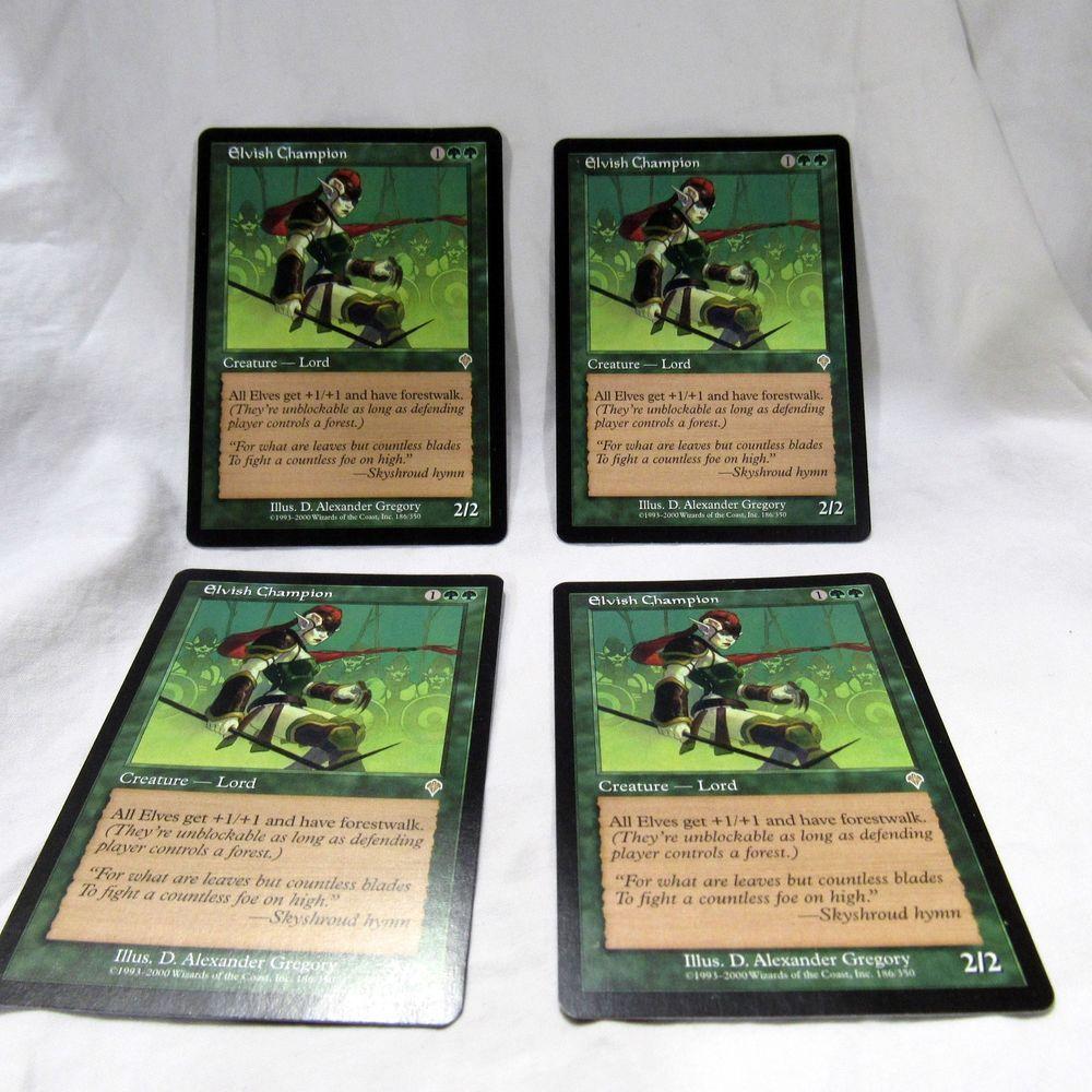 Elvish Champion NM MTG Invasion IN Magic Gathering