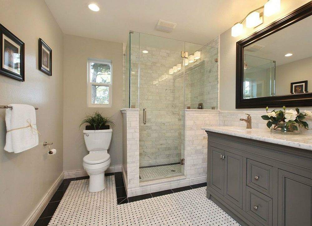 9 Ways To Make Your Old Bathroom New Again Traditional Bathroom