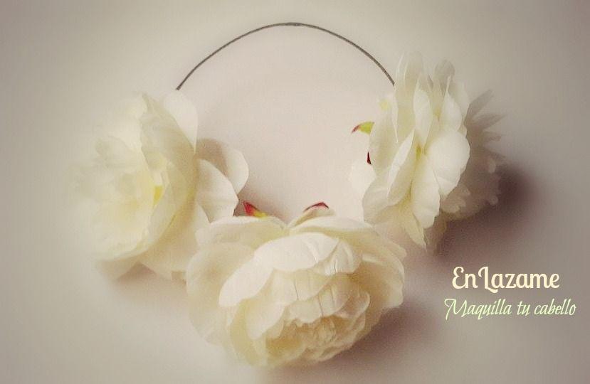 Corona de flores!