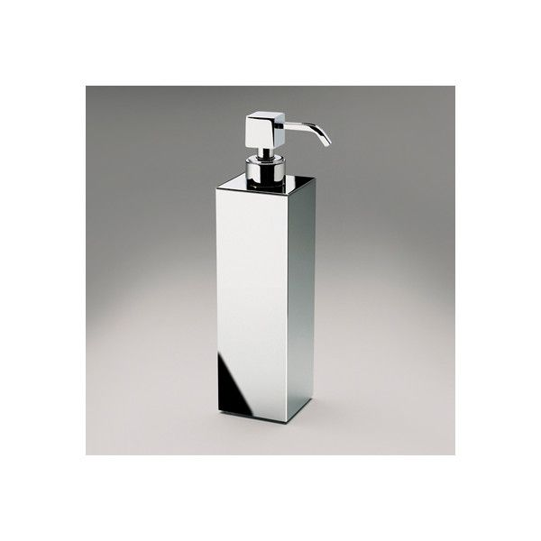 Tall Square Brass Countertop Soap Dispenser Soap Dispenser
