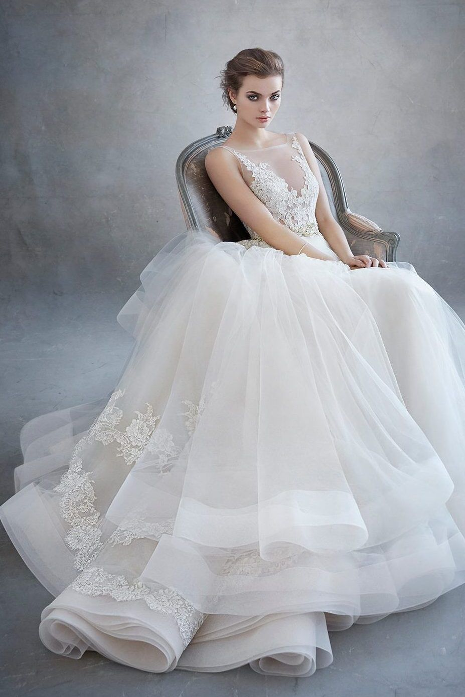 Lazaro wedding dress ballgown wedding dress and lace bodice lazaro eternal bridal junglespirit Choice Image