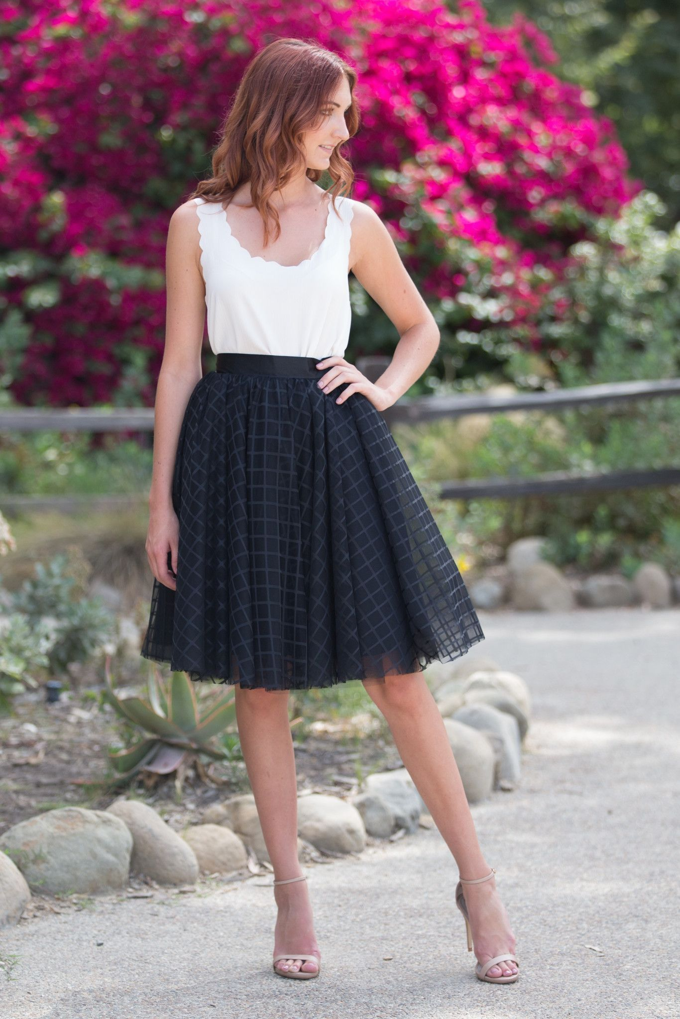 a18914bdd Cairo Lace Tulle Skirt - Black | Skylar Belle Products