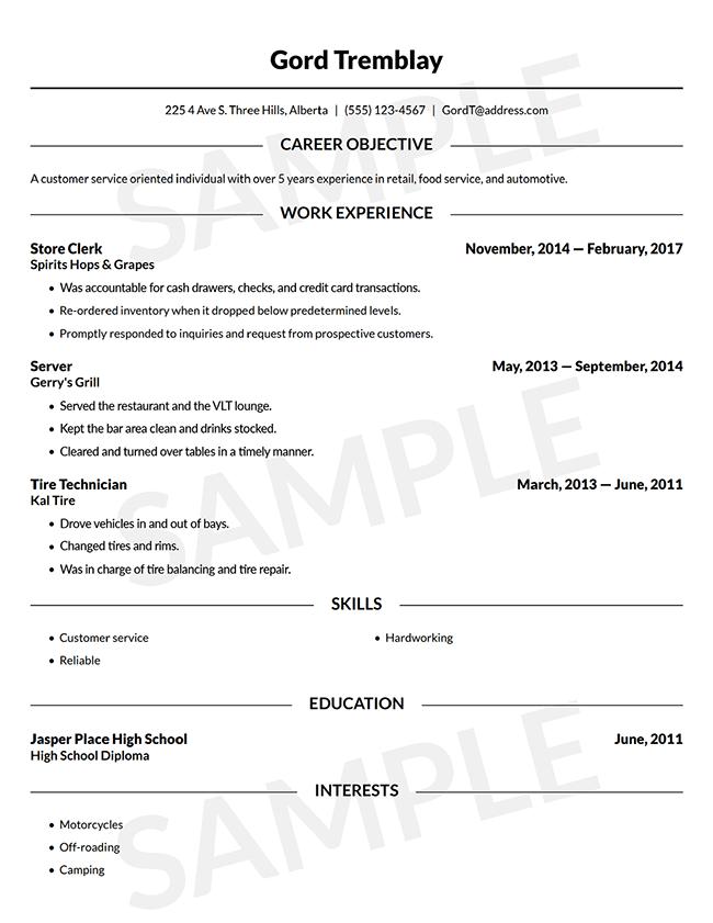 Resume Builder Free Online Resume Template Canada Lawdepot Free Online Resume Templates Online Resume Template Online Resume