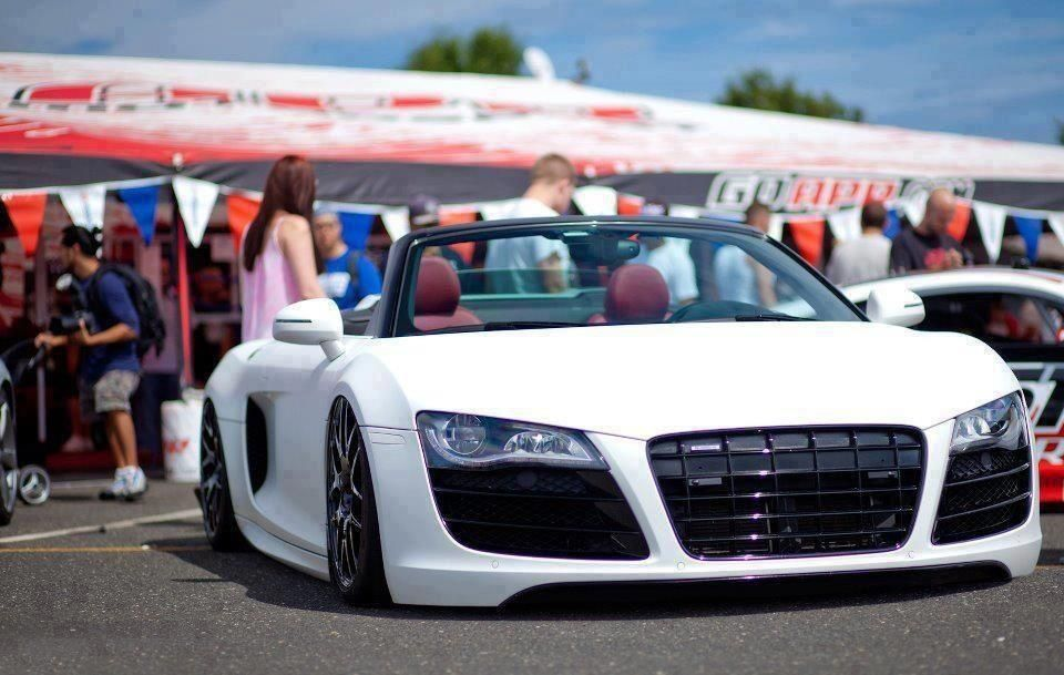 Audi R8 Lowered