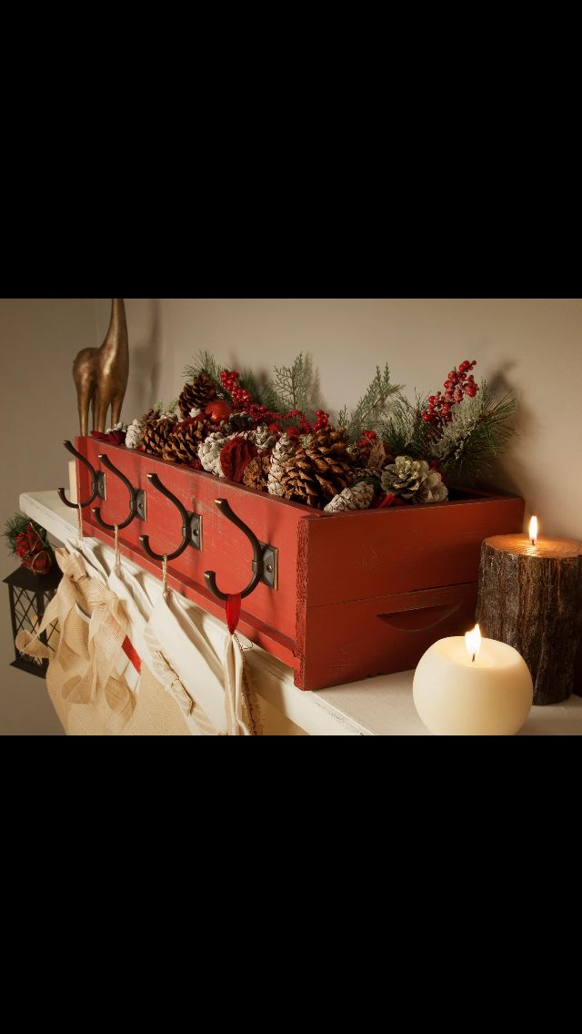 Cute Way To Hang Stockings Without Damaging Your Mantel Home