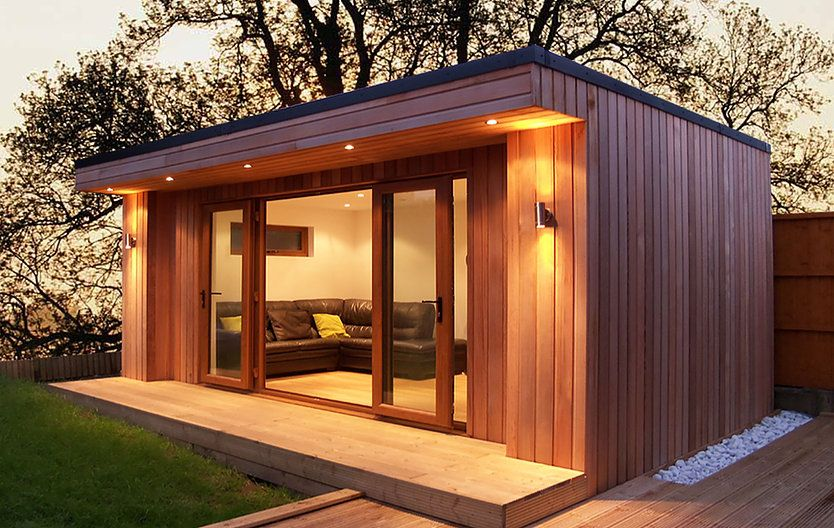 Add Living Space Single Storey Prefabricated House Extensions Are Cost Effective Installed Within Weeks A House Extensions Small Garden Room Ideas Garden Room