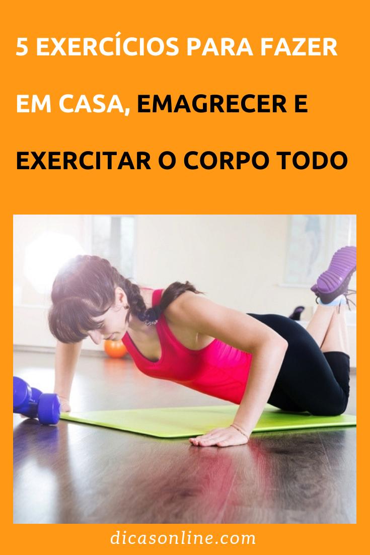 exercicios para perder peso e definir o corpo