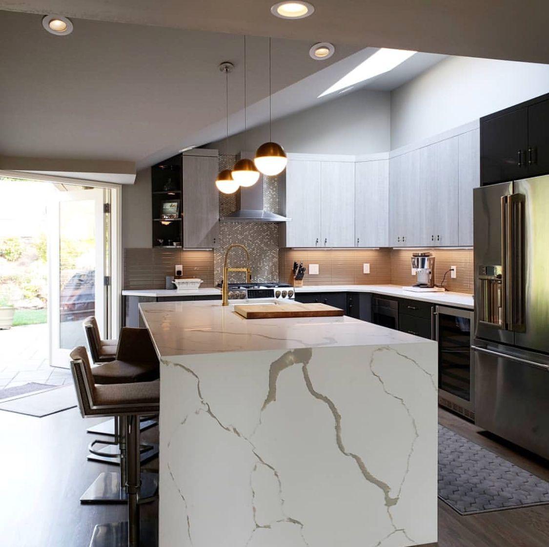 Latitude Cabinets Casa Textured Laminate Aspen Porta Grigio Gloss Order Kitchen Cabinets Pantry Cabinet Kitchen Cabinets