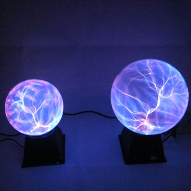 Romantic 3 4 5 6 8 Inch Magic Plasma Ball Sphere Light Magic Plasma Finger Touch Change Crystal Light Transparent Lamp Home Decoration Lights & Lighting
