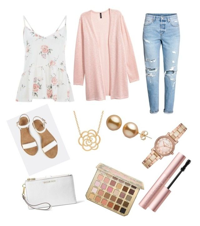 """""""Untitled #5"""" by madisonmcafee on Polyvore featuring Lord & Taylor, Michael Kors, MICHAEL Michael Kors and Too Faced Cosmetics"""