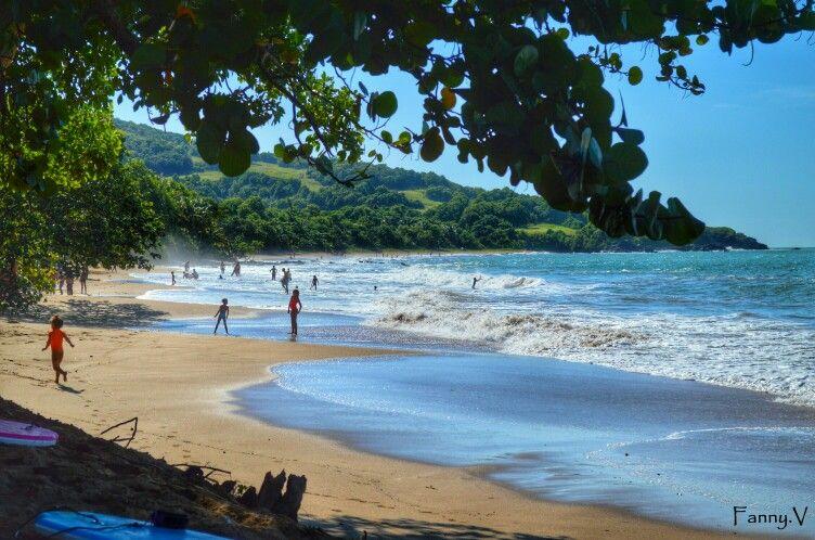 La plage cluny à sainte rose. Guadeloupe