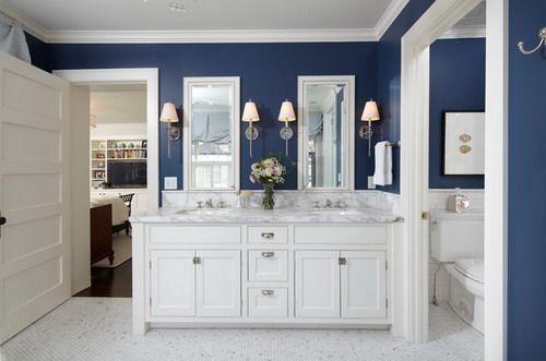 sapphire blue bathrooms google search